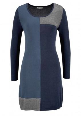 Megzta mėlyna suknelė