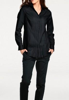 Long blouse, black
