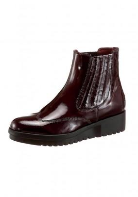 Chelsea boots, bordeaux