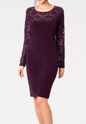 """Violetinė suknelė """"Plume'"""