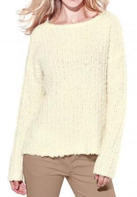 Jaukus gelsvas megztinis su vilna
