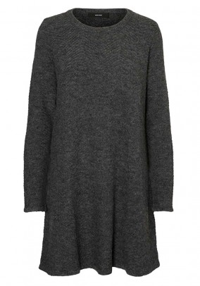 Knit dress, grey