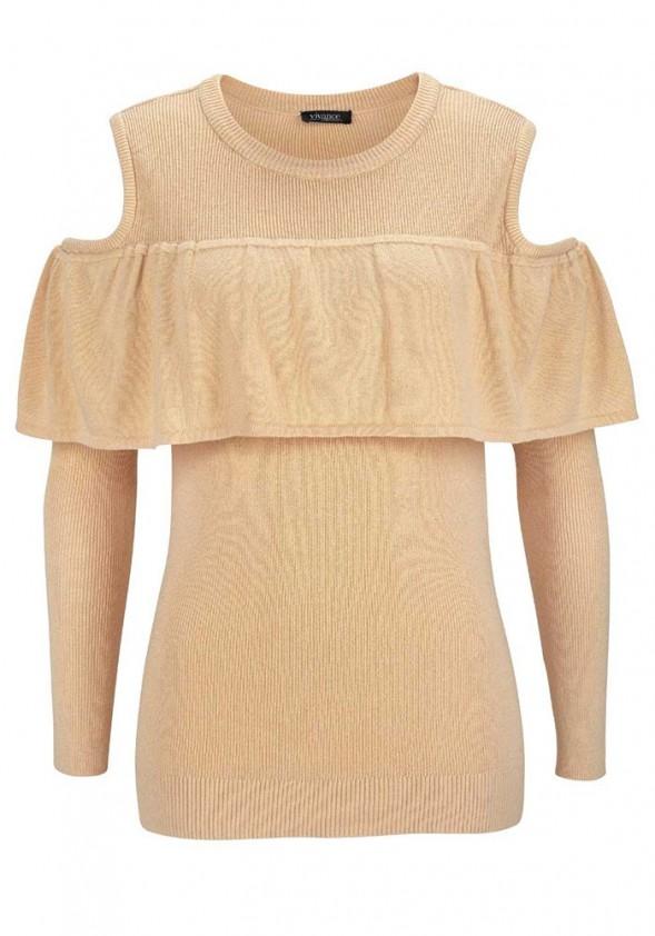"""Smėlinis megztinis """"Vivi"""""""
