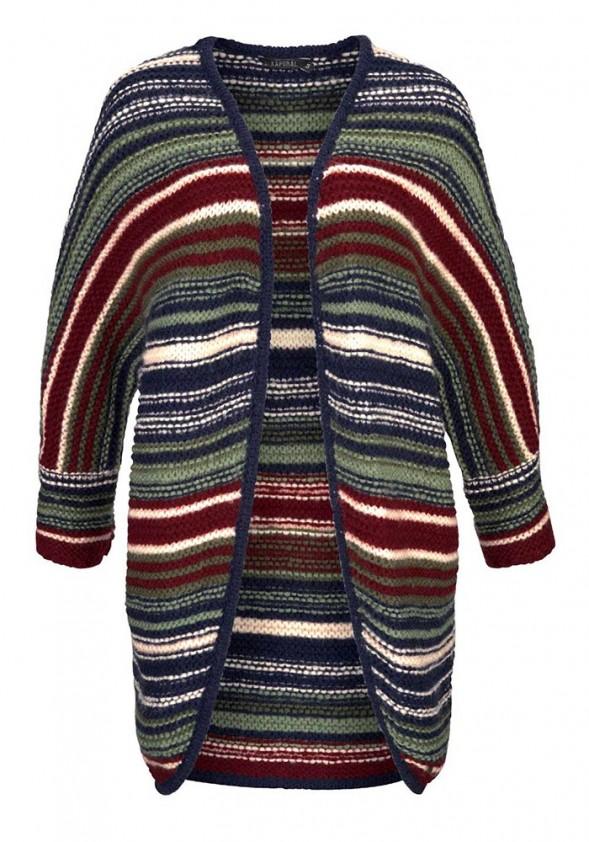 Kaporal dryžuotas megztinis