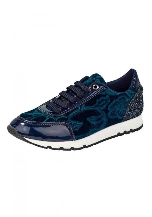 Mėlyni sportiniai bateliai