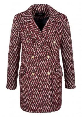 Raudonas Vero Moda paltas