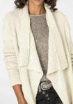 Itin ilgas baltas megztinis