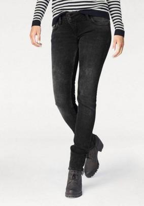 Brand skinny jeans, black-used, 30 inch