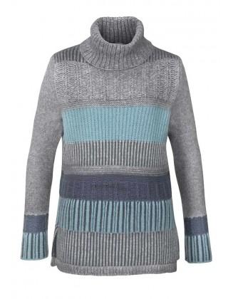 STEFANEL pilkas vilnos megztinis