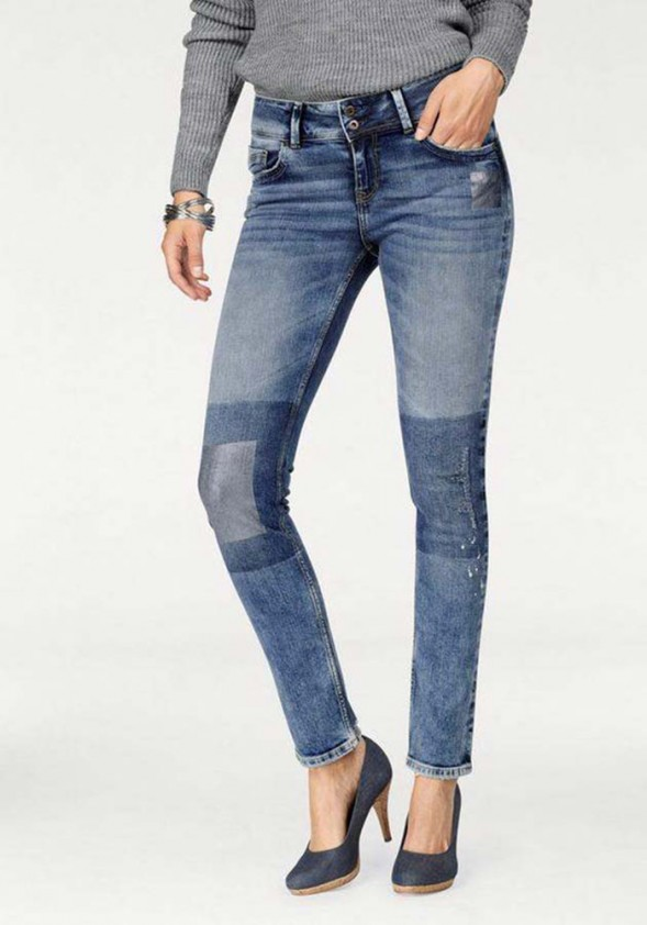 Women's jeans, blue used, 30inch