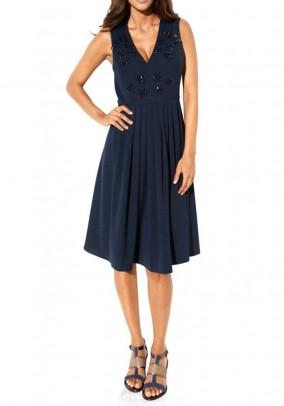 Princess dress, navy