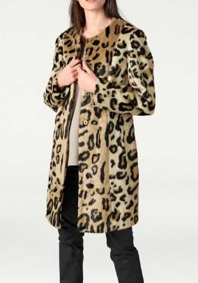 "Kailinis paltas ""Leopard"""