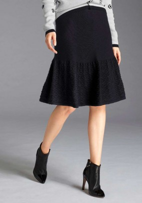 Pencil skirt, black