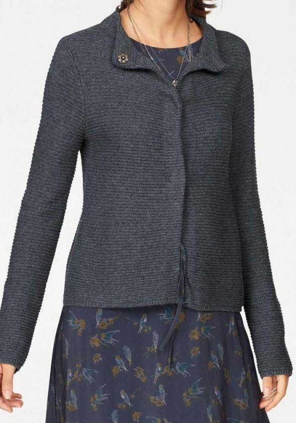 Pilkas TOM TAILOR megztinis