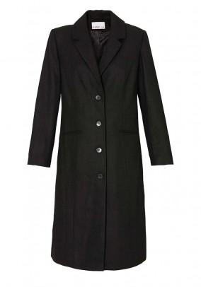"""Juodas klasikinis paltas """"Sheego"""""""