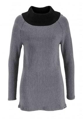"""Pilkas megztinis """"Nuga"""""""