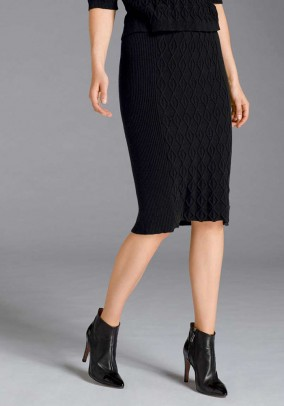 Pencil skirt, black
