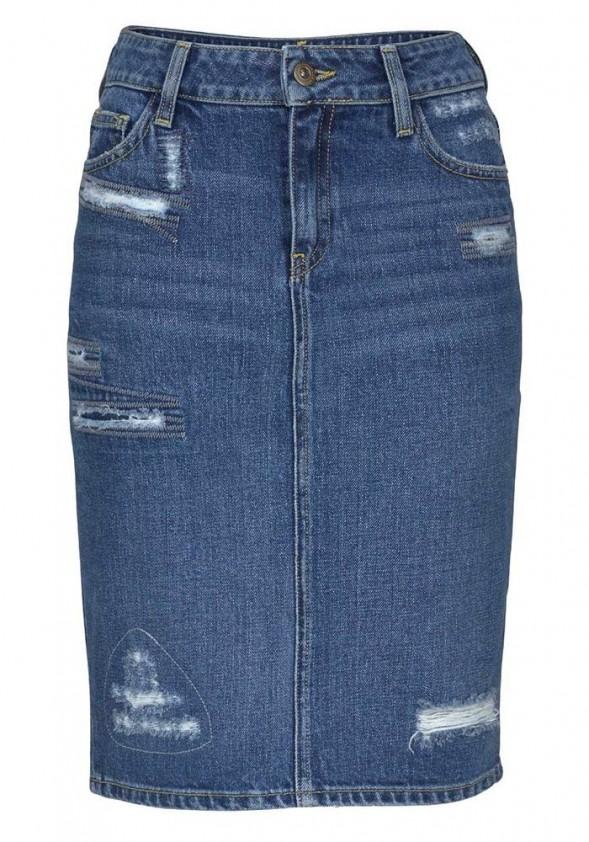 Džinsinis CROSS sijonas