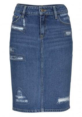 Džinsinis CROSS sijonas. Liko 38/40 dydis