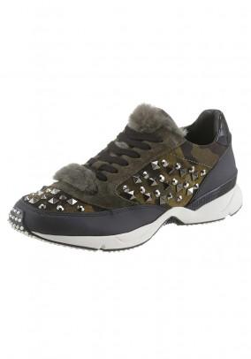 Women's sneaker, camouflage