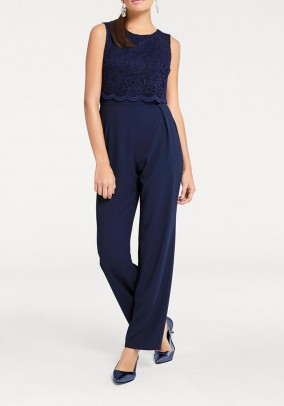 Jumpsuit, midnight blue
