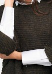 "Rudas ""Oversize"" megztinis"