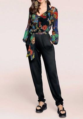 Jumpsuit, multicolour-black
