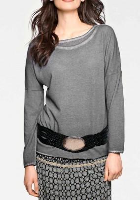 "Pilkas megztinis ""Linea"""