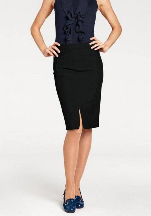 Juodas verslo klasės sijonas. Liko 40 dydis