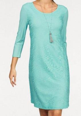 Lace dress, mint