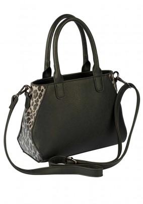 Carry bag, black-leo