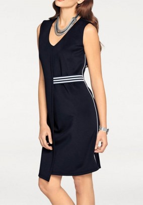 Sheath dress, navy