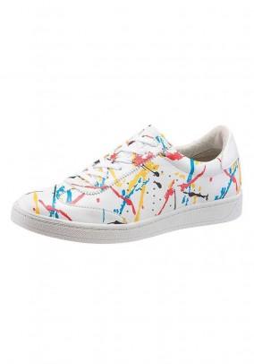 Sneaker, white-multicolour