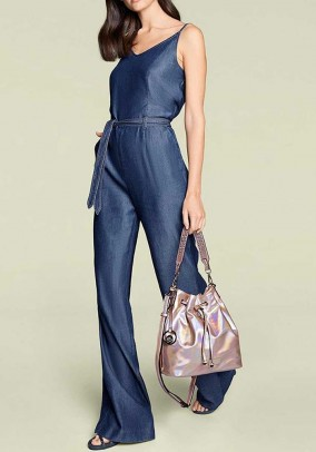 Jumpsuitin denim look, blue