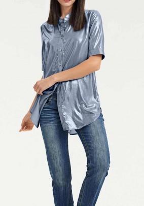 Ilgi melsvi marškiniai