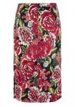 Ryškus gėlėtas sijonas