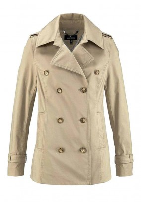 Caban jacket, beige