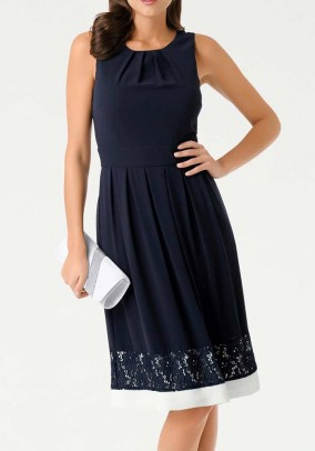 "Tamsiai mėlyna suknelė ""Dior"""