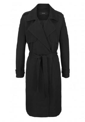 Klasikinis juodas VERO MODA paltas