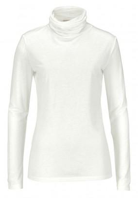 Wool mix shirt, wool white