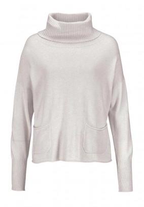 Wool blend shirt, beige