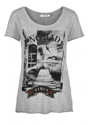 Pilki RICH & ROYAL marškinėliai