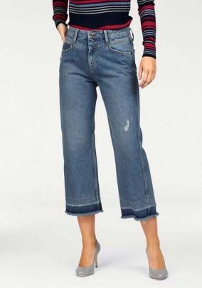 Culotte jeans, blue
