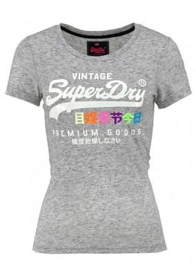 Pilki Superdry marškinėliai