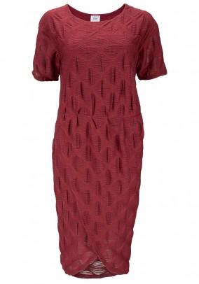 Dress, dark red