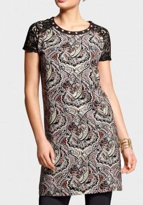Trumpa vintažinė suknelė