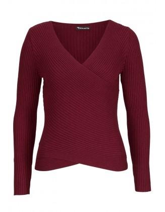 Raudonas TAMARIS megztinis