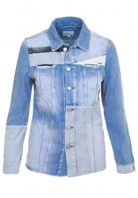 Brand denim jacket, light blue