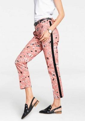 Designer pressure pants, colorful