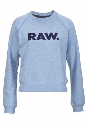 Sweatshirt, blended blue